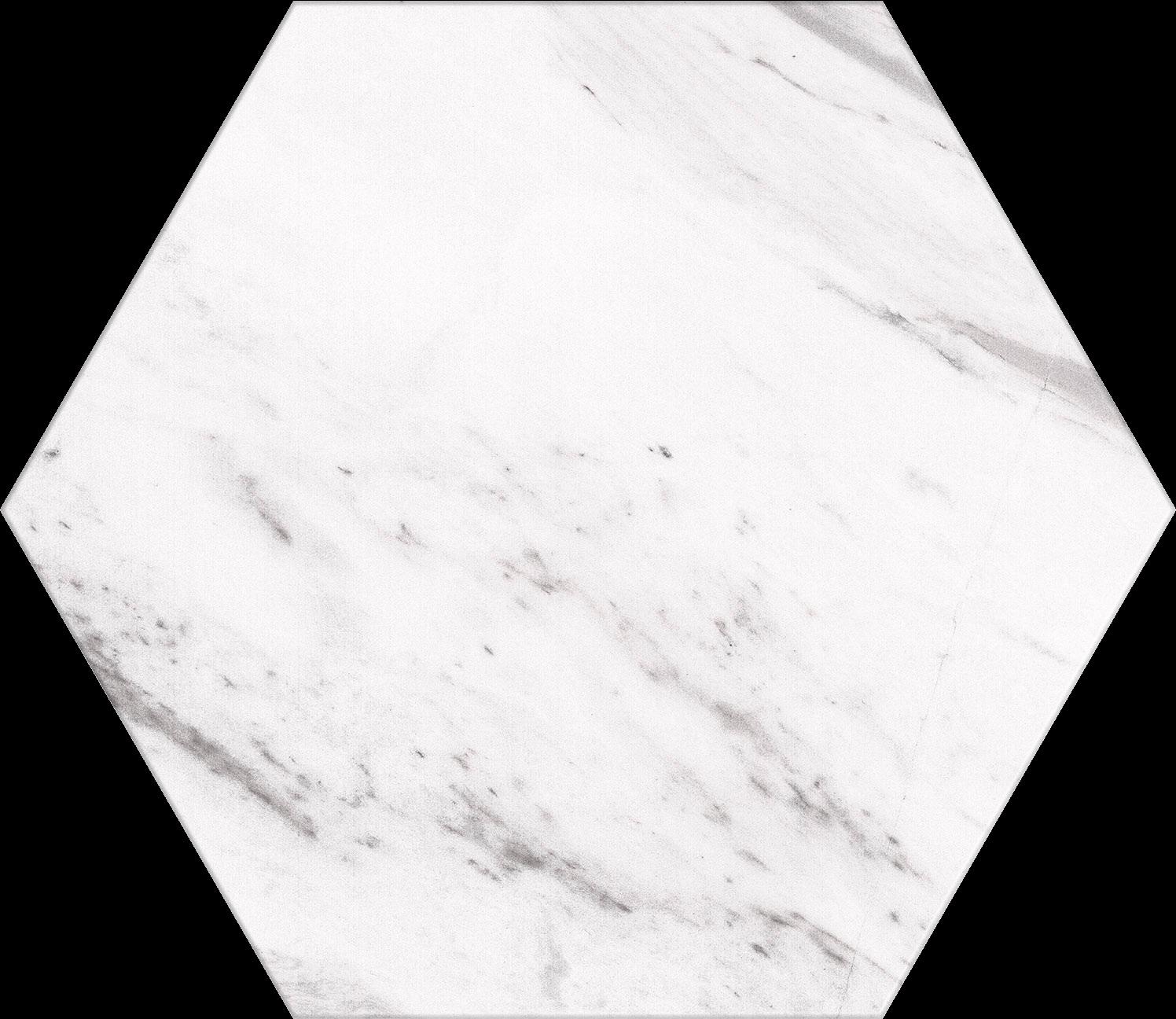 Hex Marble Carrara